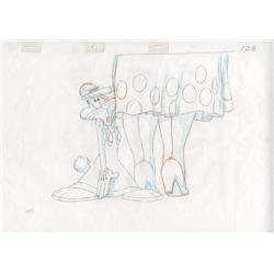 Who Framed Roger Rabbit production pan drawing