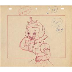 Original production layout drawings from Gandy Goose