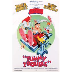 Original one-sheet poster from Tummy Trouble