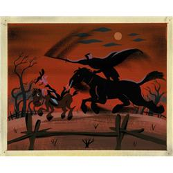Mary Blair concept painting The Adventures of Ichabod and Mr. Toad