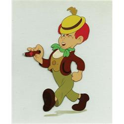 Pinocchio production cel of Lampwick