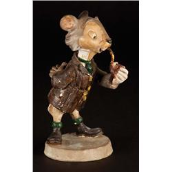 Original Walt Disney Rat maquette from The Adventures of Ichabod and Mr. Toad