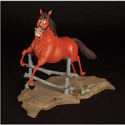 Walt Disney studio maquette of Buck from Home on the Range