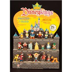 Marx Disneykings Castle store display with figures in original box