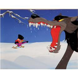 Peter and the Wolf production cel