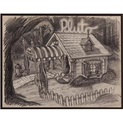 Pluto's Dream House layout drawing