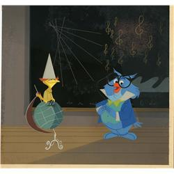 Original production cel and background from Melody Time