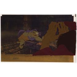 The Black Cauldron pair of original production cels