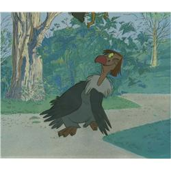 Original production cel of Vulture from The Jungle Book
