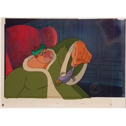 Original production cel of Willie the Giant and from Mickey's Christmas Carol