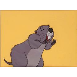 Original production cel of Gopher from The Many Adventures of Winnie the Pooh