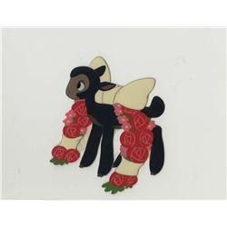 So Dear to My Heart pair of production cels of Danny the Lamb