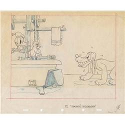 Donald's Dog Laundry publicity drawing