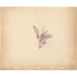 Timothy Mouse original production drawing from Dumbo