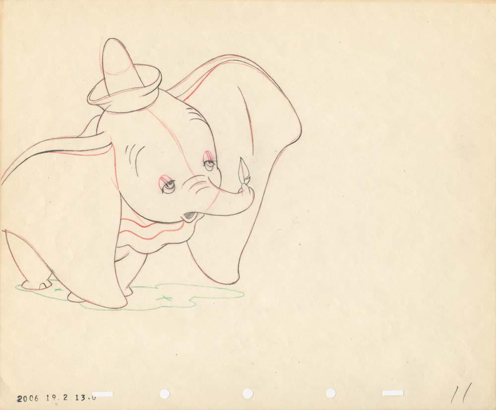Dumbo Drawing Dumbo Drawing By...900 x 584