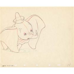Dumbo original production drawing from Dumbo