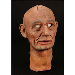 Original Abraham Lincoln mask from The Hall of Presidents attraction at Disney World