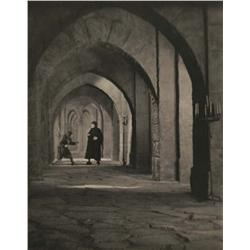 Five platinum prints from The Hunchback of Notre Dame
