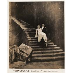 Bela Lugosi and Helen Chandler key-book portrait from Dracula