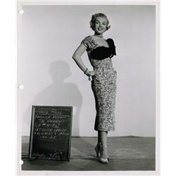 As Young as You Feel pair of original Marilyn Monroe wardrobe test photos