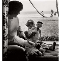 Richard Avedon portrait of Kennedy family for February, 1961 issue of LOOK magazine