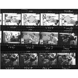 Archive of 200+ 35mm negs of Stanley Kubrick with cast & crew during 2001: A Space Odyssey