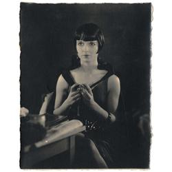 Louise Brooks vint cust-prnt portrait for A Girl in Every Port from Howard Hawks' prsnl collection