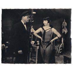 Louise Brooks & Robert Armstrong vintate cust-prnt scn stl A Girl in Every Port