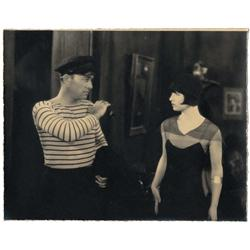 Louise Brooks & Robert Armstrong pair of vint cust-prnt scn stls A Girl in Every Port