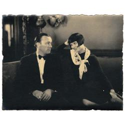 Louise Brooks & Robert Armstrong pr vntg cstm-prn scne stls A Girl in Every Port