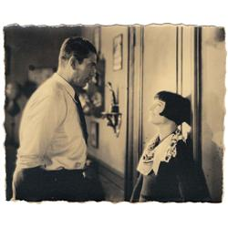 Louise Brooks & Victor McLaglen pair of vintage custom-prn scene stills for A Girl in Every Port