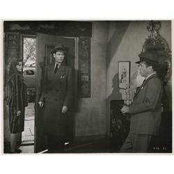 Howard Hawks' personal archive of (8) custom-print vintage stills for The Big Sleep