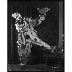 Lon Chaney camera negative from Laugh, Clown, Laugh by Bert Longworth