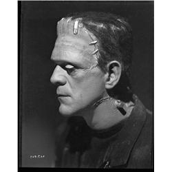 Boris Karloff camera negative from Bride of Frankenstein by Jack Freulich