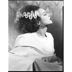 Elsa Lanchester camera negative from Bride of Frankenstein by Jack Freulich