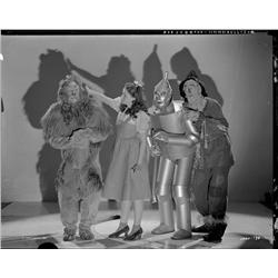 Judy Garland, Jack Haley, etc Wizard of Oz camra negs by Clarence Sinclair Bull & George Hommel