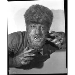 Lon Chaney, Jr. camera negative from The Wolf Man