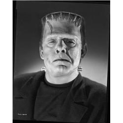 Lon Chaney, Jr. camera negative from Ghost of Frankenstein