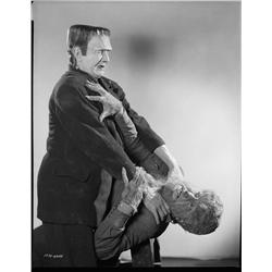 Bela Lugosi and Lon Chaney, Jr. camera negative from Frankenstein Meets the Wolf Man