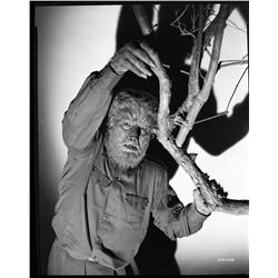 Lon Chaney, Jr. camera negative from Frankenstein Meets the Wolf Man
