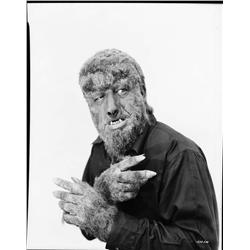 Lon Chaney, Jr. camera negative from House of Dracula