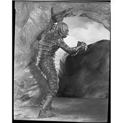 Gill-Man camera negative from Creature from the Black Lagoon