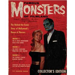 "1st issue of Forrest Ackerman's legendary fanzine, ""Famous Monsters of Filmland"""