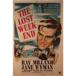 The Lost Weekend original US one-sheet poster