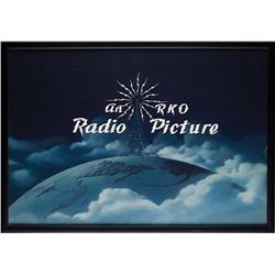 RKO Pictures main title opening camera logo art