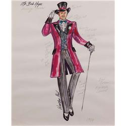 Three Warden Neil costume sketches of Bob Hope for his annual TV specials