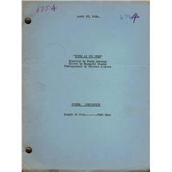 Collection of eleven (11) original vintage Fox Film Corporation dialogue-continuity scripts