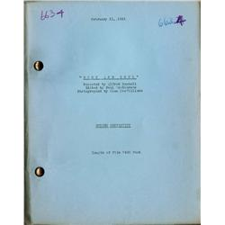 Body and Soul original 1931 screen continuity script for Humphrey Bogart's third feature film