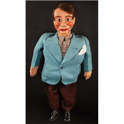 "Paul Winchell original hand-made ""Jerry Mahoney"" ventriloquist dummy used early in his career"