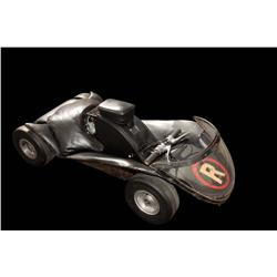Original Robin's Batcycle go-cart from the Batman TV show and the feature film